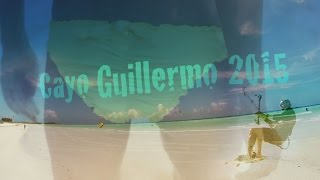 2015 Kiteboarding Cayo Guillermo before Irma, Cuba. GoPro, Kiting, kite surfing
