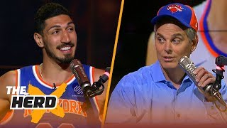 Enes Kanter on putting the Knicks back on the map, his love for Russell Westbrook | NBA | THE HERD