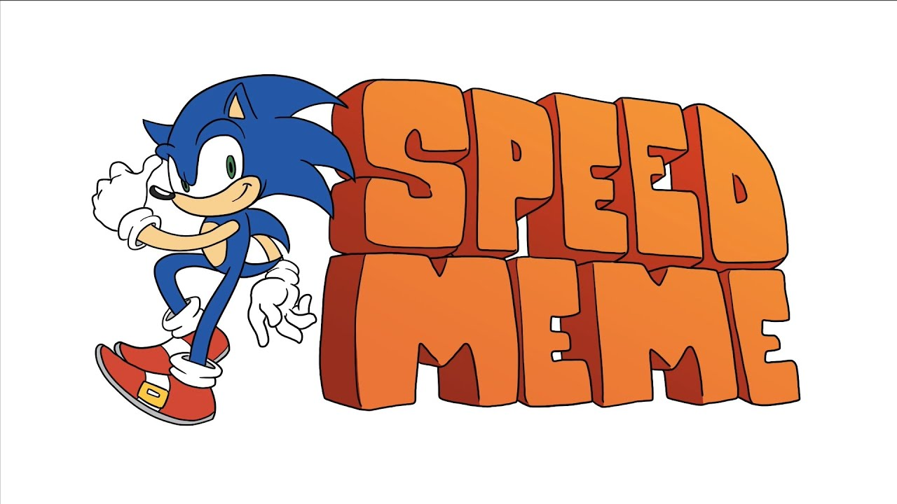 Check Out This Official Speed Art By Sega That Sees Sonic The Hedgehog Characters Recreating A Beloved Meme