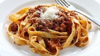 Ragu A La Bolognese Sauce - Italian Recipe Food From Around The World