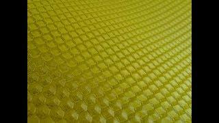 Пчеловодство Изготовление своей вощины Гладкие листы + прокатка в матрице
