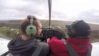 Almost Flying Solo in Evektor Sportstar with Go Pro Hero 4 Silver