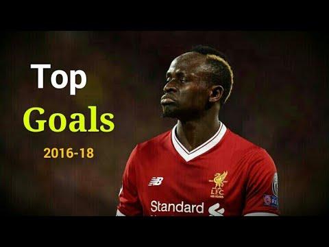 Sadio Mané - Top 10 Goals For Liverpool [2016-2018]