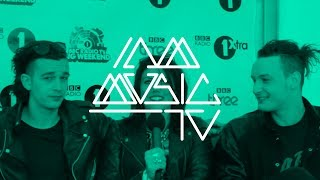The 1975 Interview @ BBC Radio 1 Big Weekend ::: Carly Wilford