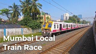mumbai-local-train-race-of-western-railways-in-india