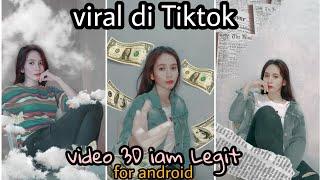 CARA EDIT VIDEO VIRAL DI TIKTOK I AM LEGIT DI ANDROID || LOOPSIE FOR ANDROID