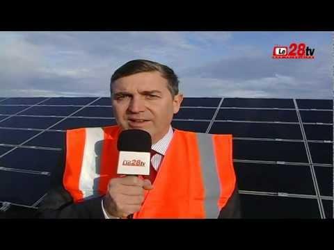Le28.tv - Parc photovoltaïque à CRUCEY (28)