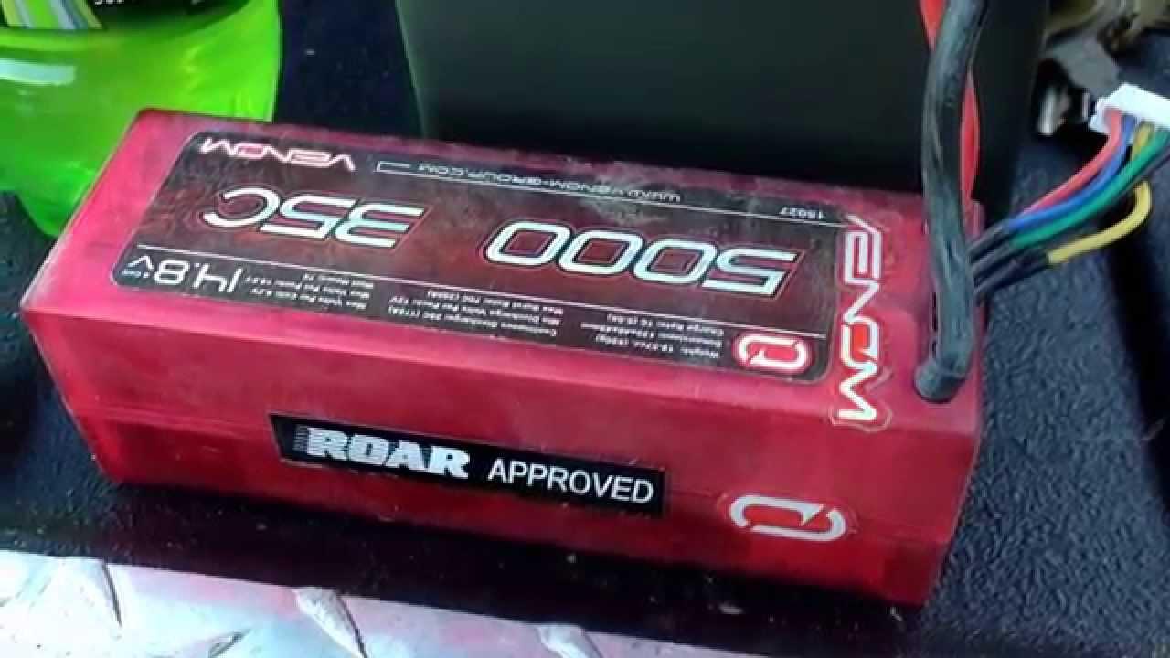 Best RC Car LIPO 5S Battery! VENOM 5 Cell