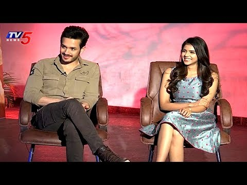 Akkineni Akhil & Kalyani Priyadarshan Sharing Hello Movie Success | TV5 News