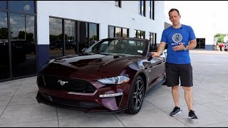 Does the 2018 Mustang GT convertible bring the MOST top down FUN? - Raiti's Rides