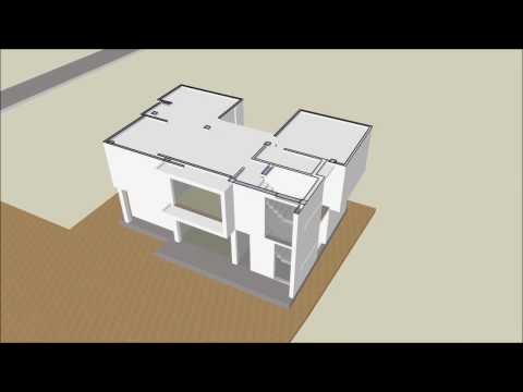 residence conceptual model animation