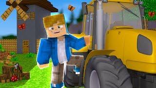 Minecraft Sobrevivência #70 - Construindo as Máquinas da Fazenda!!