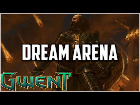 Gwent 9 Win Chat Draft Arena ~ The Dream ~ Gwent Arena Mode Gameplay Part 1