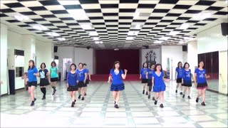 Send Me A Letter Amanda (by Marie Sørensen) - line dance (demo & walk through) = 回信給我阿曼達 - 排舞(含導跳)