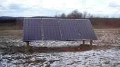 Bergy 1kw install with 1kw solar by ACES-Energy in Hornell, NY
