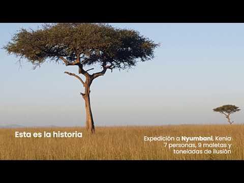 Expedición del equipo de Matimex a Nyumbani, Kenia
