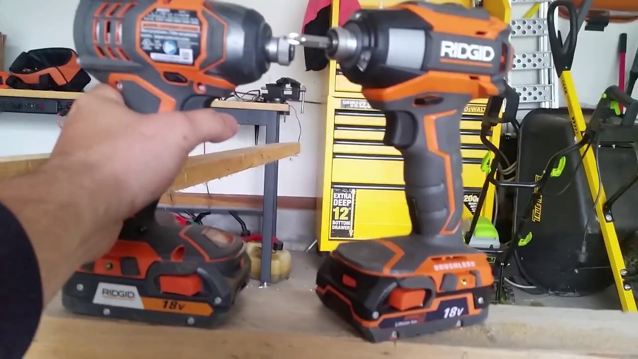 Ridgid Gen5x 18 Volt Lithium Ion 1 4 In Cordless Brushless Impact Driver Review