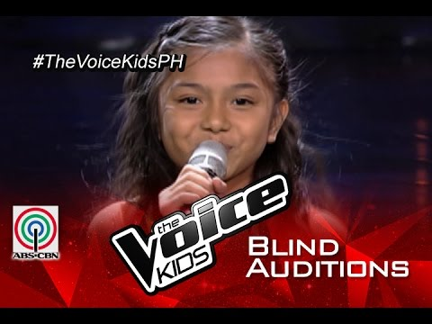 """The Voice Kids Philippines 2015 Blind Audition: """"Sunday Morning"""" By Ashley"""