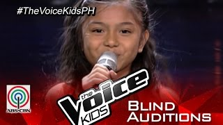 "The Voice Kids Philippines 2015 Blind Audition: ""Sunday Morning"" by Ashley"