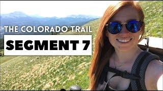 The Colorado Trail, Segment 7: Breckenridge - Copper Mountain (mile 104.4 - 117.6)
