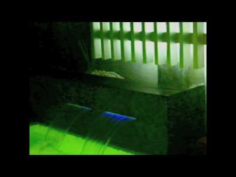 Modern Pool with Optical Fiber By Claudia Diaz