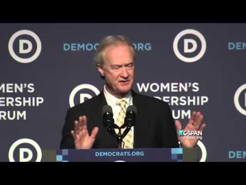 Lincoln Chafee Withdraws From Presidential Race, Calls For Peace, 10/23/2015