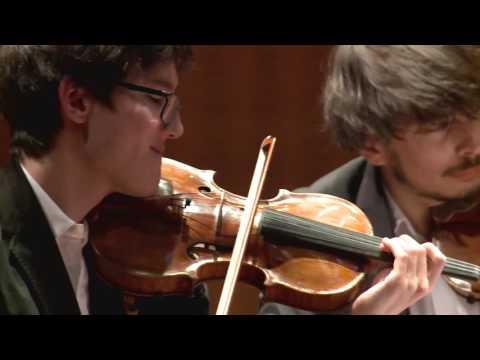 String Quartet Final - Quatuor Hanson, 2nd Prize