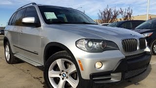pre owned silver 2010 bmw x5 awd 30i walk around review   penhold alberta