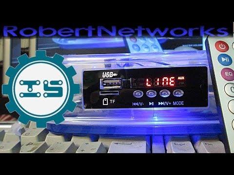 ICStation MP3 FM Time Display 5-12v Blue Light  Decoder Board - Review - RobertNetworks
