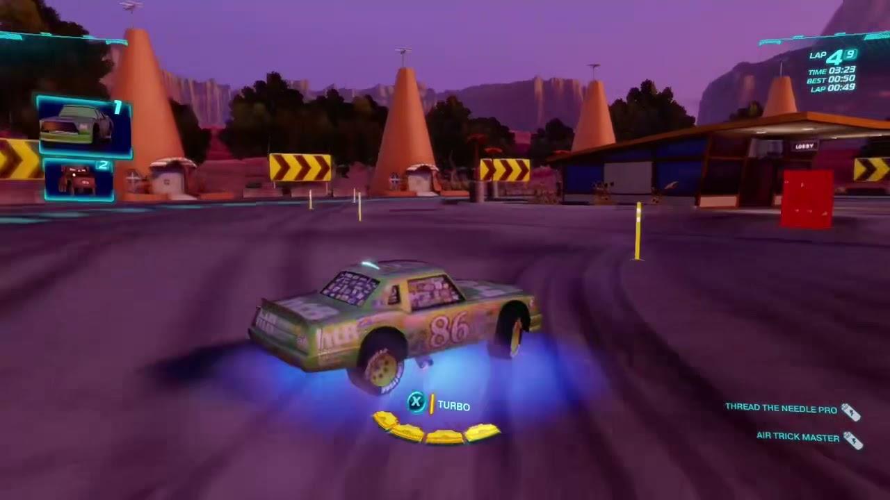 Cars 2 The Video Game | Chick Hicks - Radiator Sprint | 9 laps