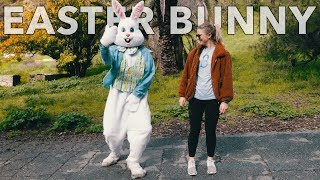 Dancing With Strangers  in Public as the Easter Bunny! *Hilarious*