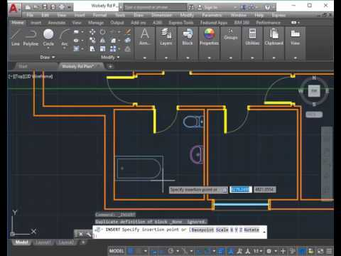 Wolsely Rd AutoCAD 07   Bathroom And Tiles