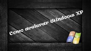 Acelerar windows XP (Liberar la memoria ram).