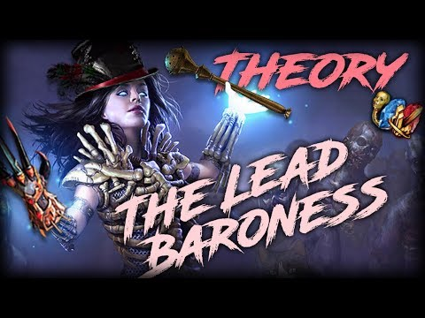 PoE Abyss 3.1 The Lead Baroness - Lead Sprinkler Baron Scourge Necromancer Theory