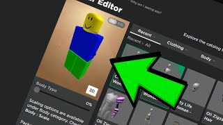 How to have NO Arms in Roblox For FREE!