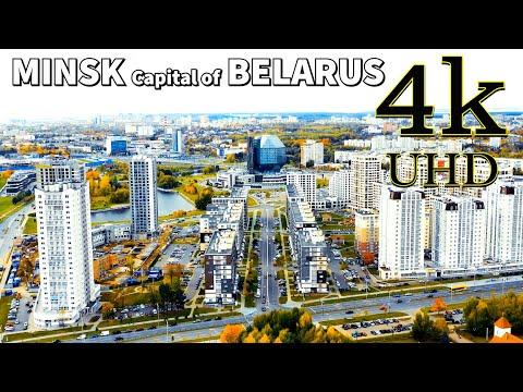 Minsk Belarus in 4K UHD