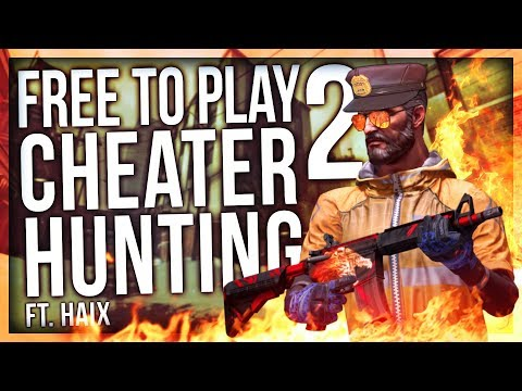 CS:GO FREE TO PLAY (CHEATER HUNTING)