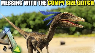 WE MAKE THE COMPY GROW TO A MASSIVE SIZE  | PLAY AS A DINO | ARK SURVIVAL EVOLVED