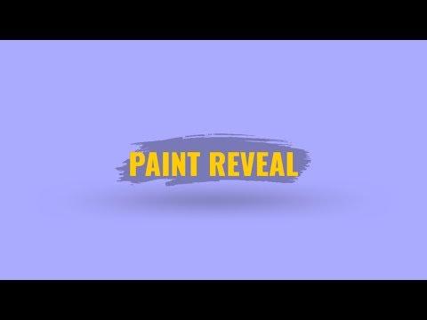 PAINT REVEAL ANIMATION | HITFILM EXPRESS TUTORIAL thumbnail