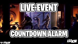 Fortnite - The Device Event / LIVE-Event Countdown Alarm   'Extended' (Audio)