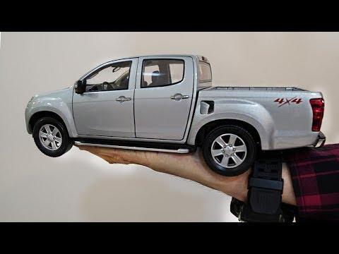 Unboxing Of ISUZU D-MAX/Chevrolet Colorado 1:18 Scale Diecast Model Car
