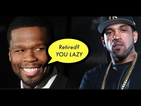 50 Cent REACTS to Lloyd Banks RETIREMENT ANNOUNCEMENT Implies He is LAZY in Comparison to Him