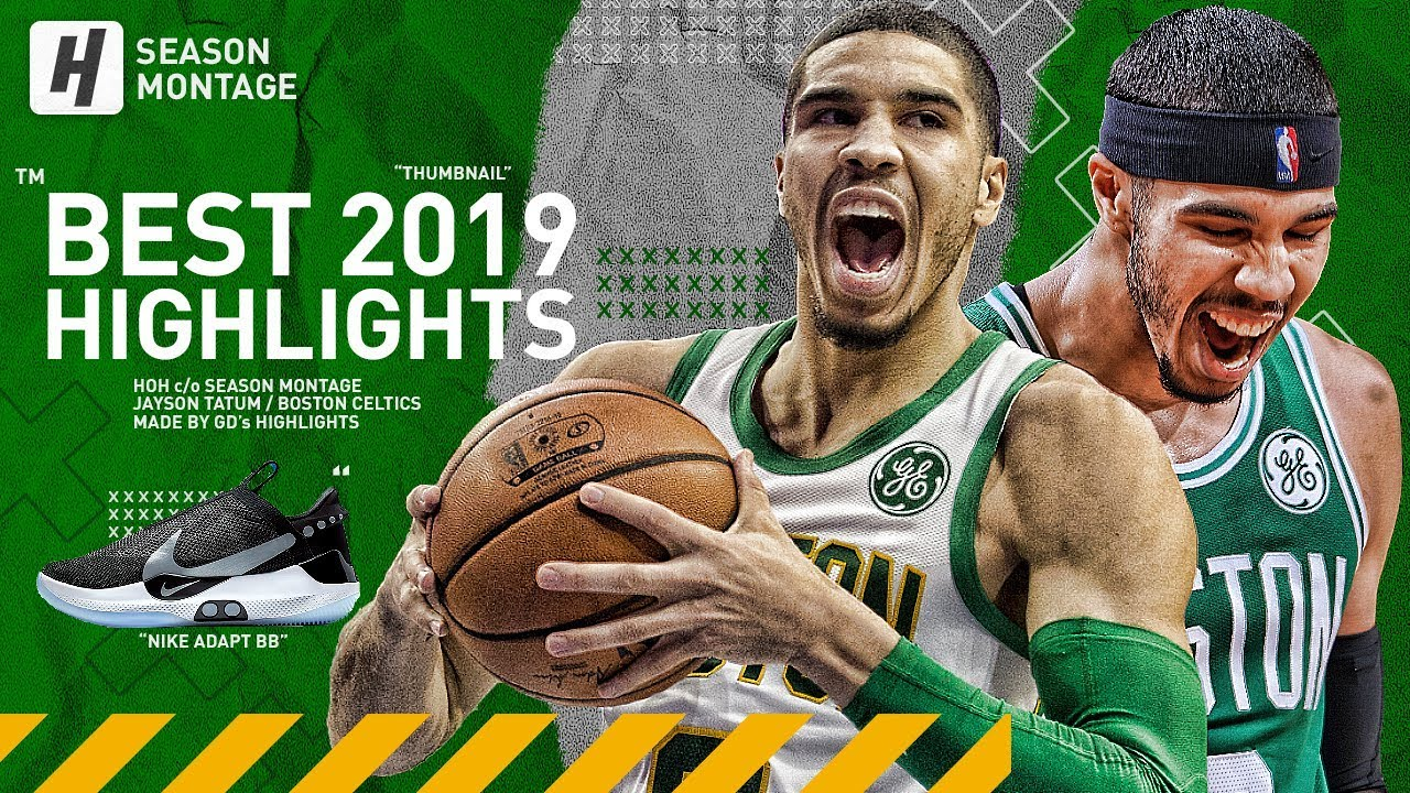 Jayson Tatum BEST Highlights & Moments from 2018-19 NBA Season!