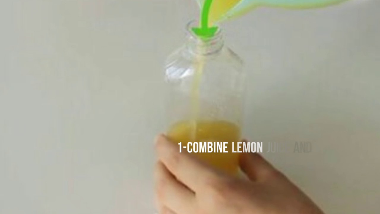 How To Dye Your Hair With Lemon Juice Dye Hair With Lemon Females