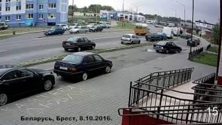 Жёсткие и смертельные аварии и ДТП от Дорожные войны за 10 10 2016 Видео №1008  ДТП и АВАРИИ!