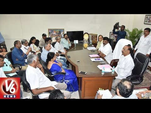 Minister Talasani Holds Meeting With Telugu Film Industry JAC   Casting Couch & RGV Issues   V6 News