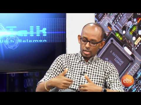 Tech talk with Solomon  Season 7 Ep 9 - Design &Technology with industrial Designer Jomo Tariku p1