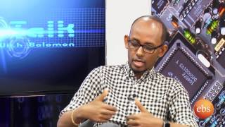 Tech talk with Solomon  Season 7 Ep 9 - Design &Technology with industrial Designer Jomo Tariku p1