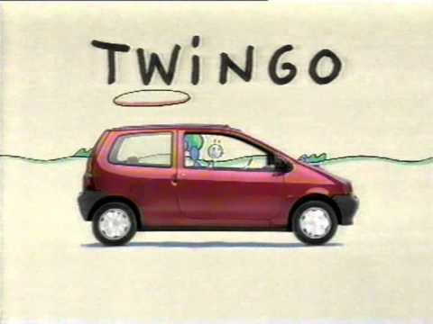 renault twingo generation i 1992 2007 publicit old tv commercial star reklama 1995. Black Bedroom Furniture Sets. Home Design Ideas