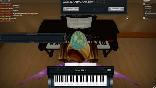 Viva La Vida ? ROBLOX virtual piano